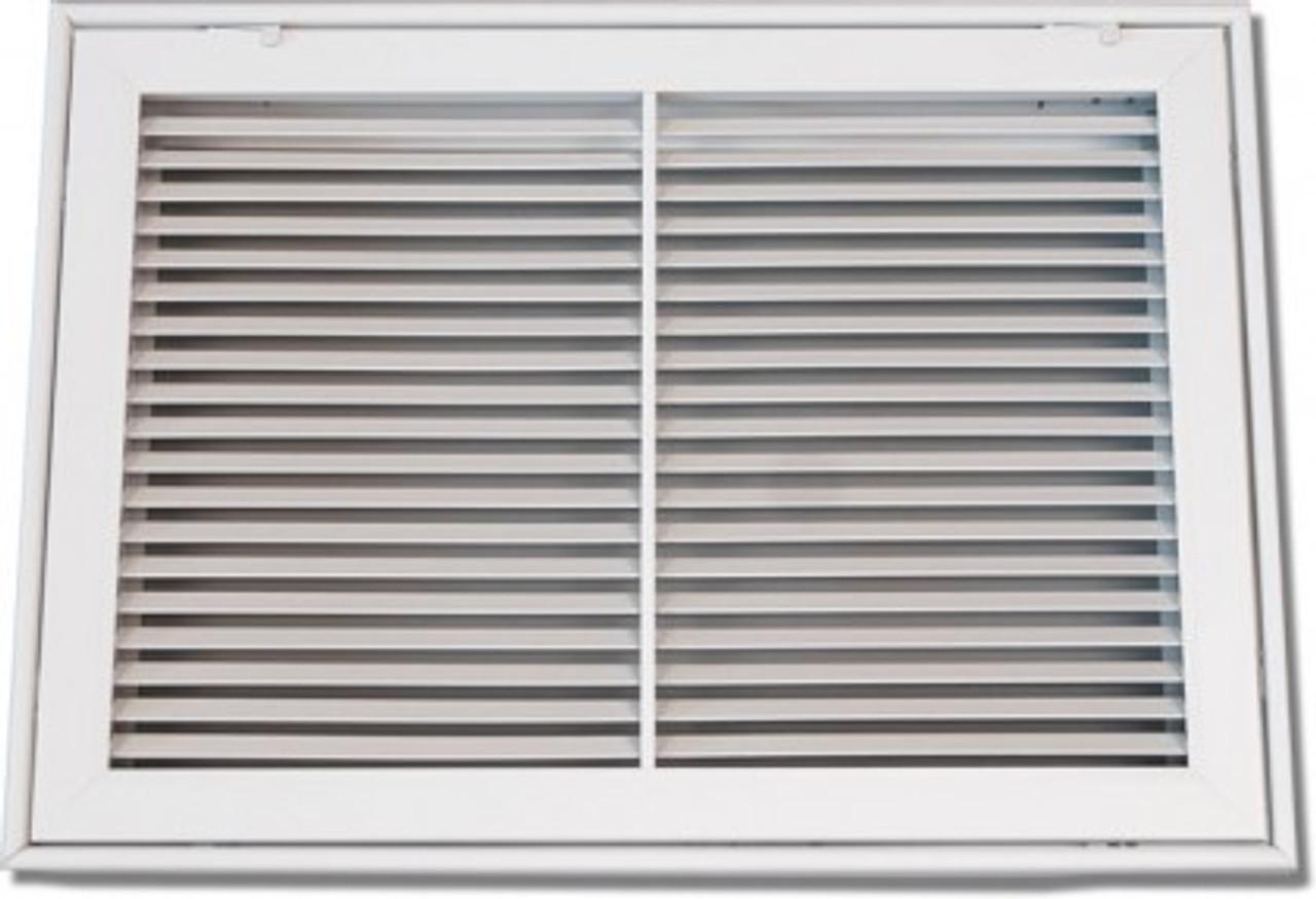 40 x 20 air return filter grille bar face psfbfgw4020 - indoor ...