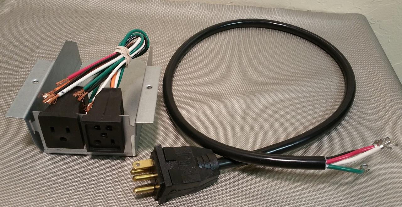 115v plug box \u0026 cord changeover indoor comfort supply Swamp Cooler Master Power 115v plug box \u0026 cord changeover