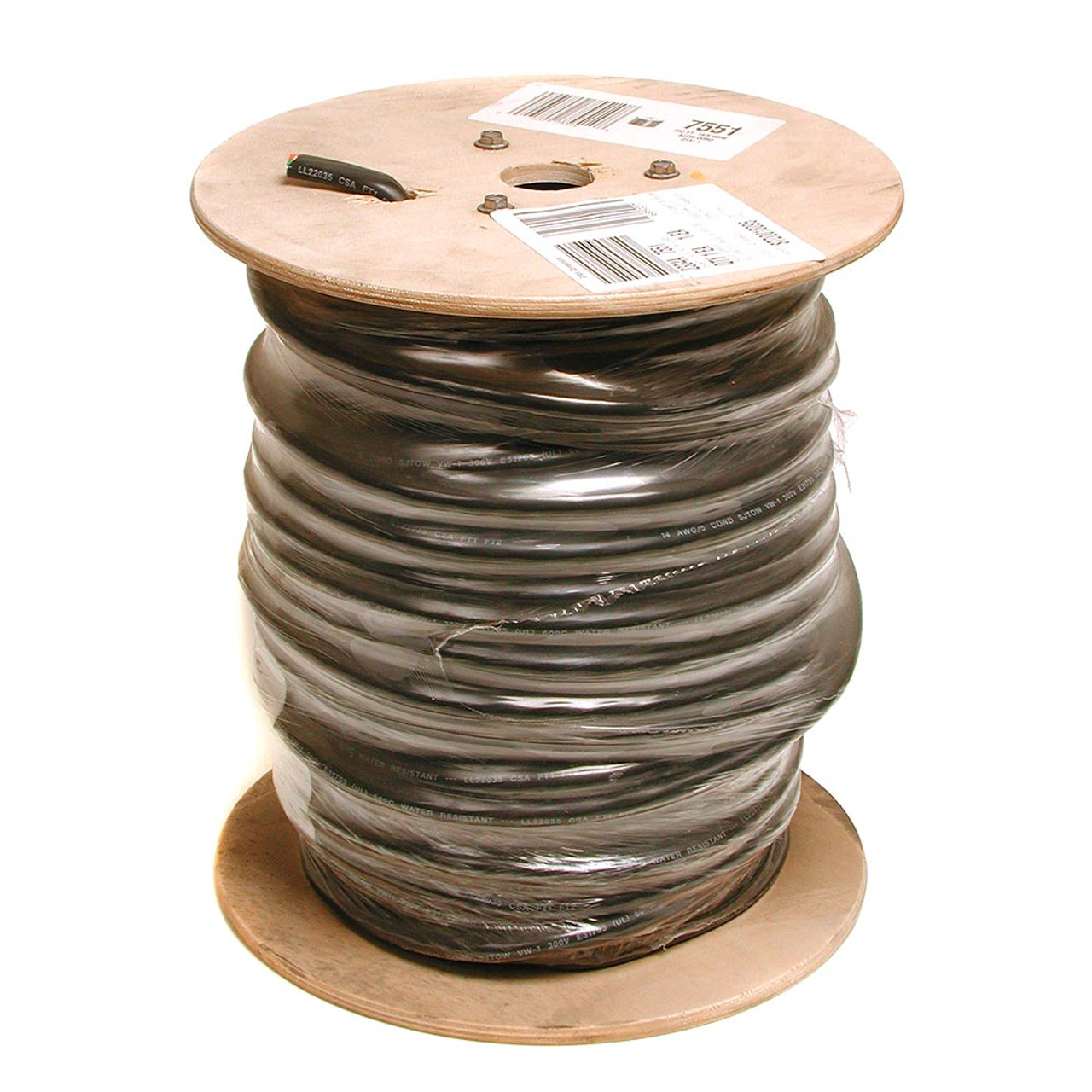 swamp cooler control cable 14 gauge 5 wire order by the footswamp cooler control cable 14 gauge 5 wire order by the foot sjt145