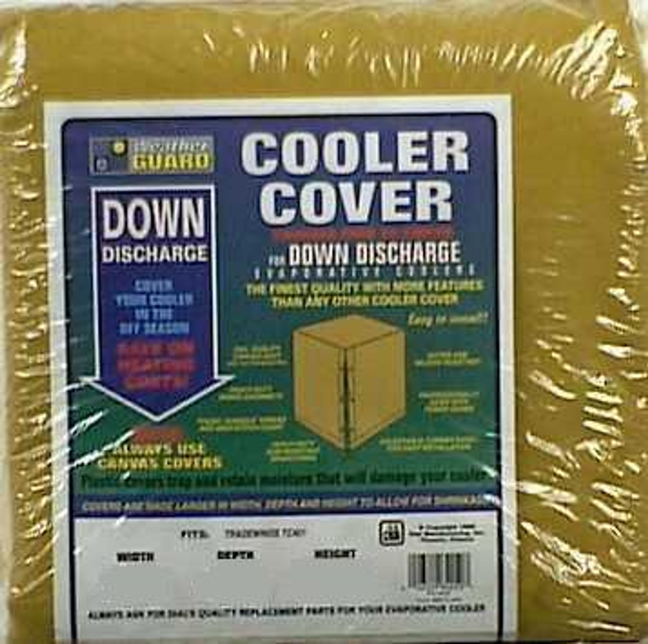 Cooler Covers - Downdraft