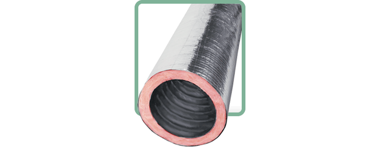 Flexible Duct - R8 Insulation