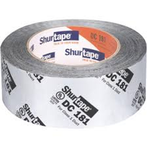 Silver Film Mylar Duct Tape 181 2 in. x 120 yd.