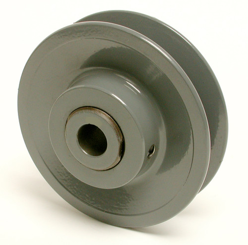 """3-3/4"""" X 1/2"""" Iron Pulley 6195"""