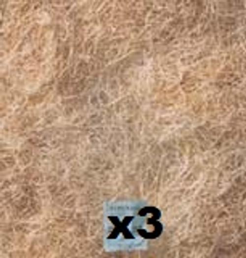 "3 Pack Evaporative Cooler Pads, High Density Aspen 24""X24"" FP24243PK"