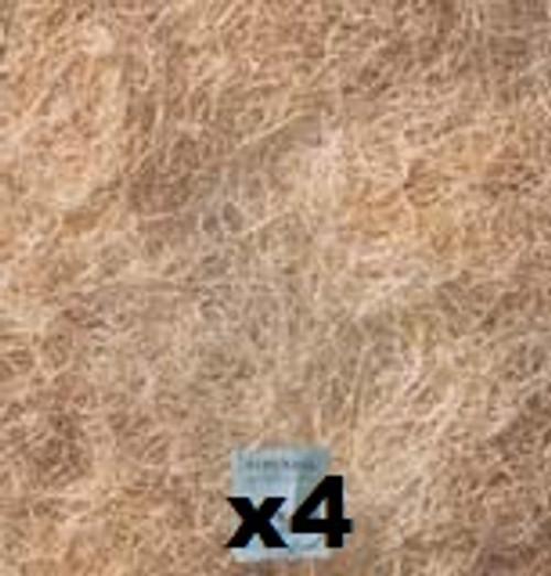 "4 Pack Evaporative Cooler Pads, High Density Aspen 24""X30"" FP24304PK"