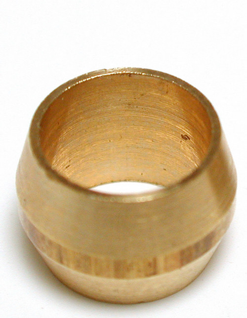 "1/4"" Brass Compression Sleeve  (5 PACK) 93055"