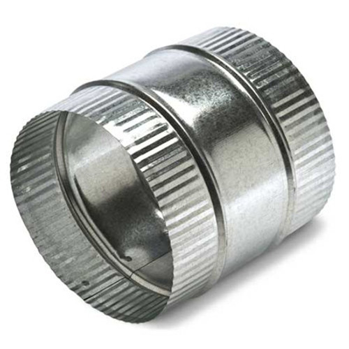 "6"" Flex Duct Connector - HVAC Ductwork Sheet Metal"