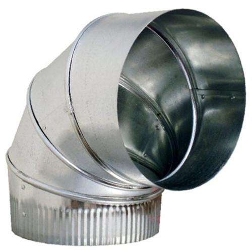 "3"" 90 Degree Adjustable Elbow HVAC Ductwork Sheet Metal"