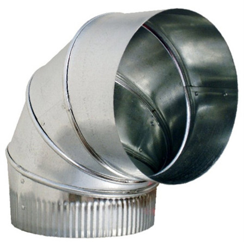 "5"" 90 Degree Adjustable Elbow HVAC Ductwork Sheet Metal"