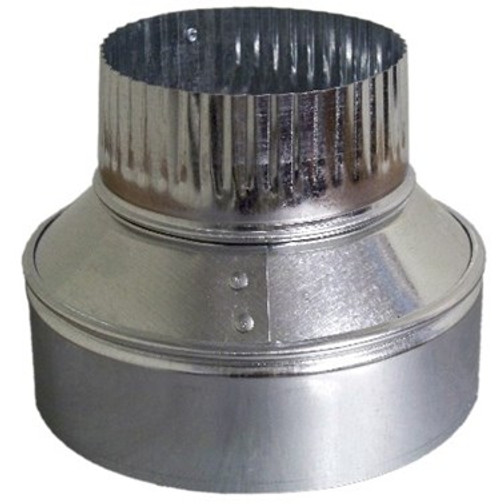 10 X 6 Vent Pipe Reducer - HVAC Ductwork Sheet Metal