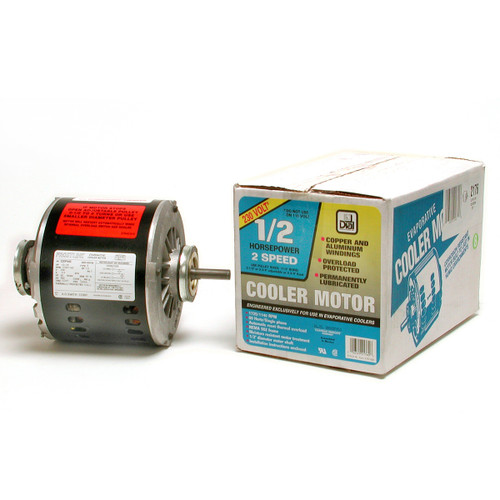 1/2HP 2SPD 230V Swamp Cooler Motor 2176