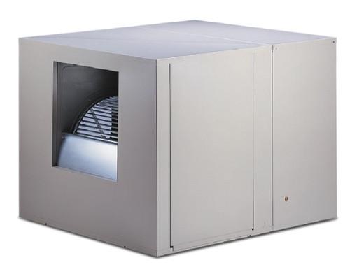 Aerocool Pro 4800 Sidedraft Complete Evaporative Cooler System - 120 Volt 3/4HP Motor, 4x4 High Efficiency Media, Digital Thermostat, Purge System