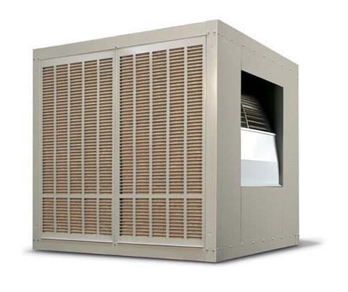 10,000 CFM Sidedraft Industrial Evaporative Cooler - Aspen Pads H1425