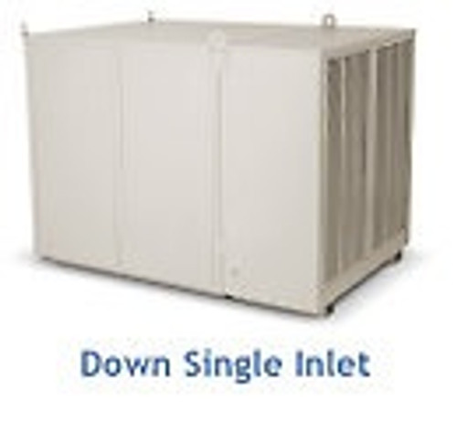"10000 CFM Downdraft Industrial Evaporative Cooler - 8"" Pads ID500"