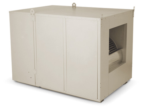"10000 CFM Sidedraft Industrial Evaporative Cooler - 8"" Pads - IS500"