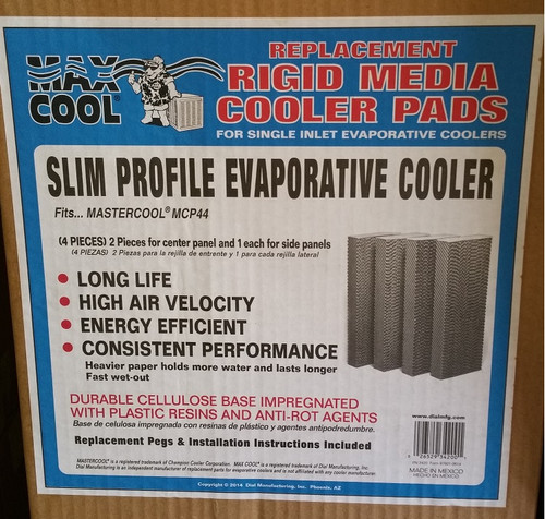 Pad Set for MCP44 Mastercool by Champion Window Cooler