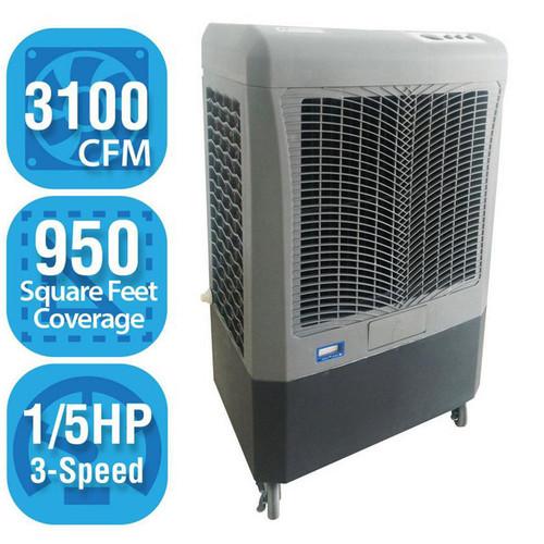 Mobile 3100 CFM cooler Hessaire MC37M