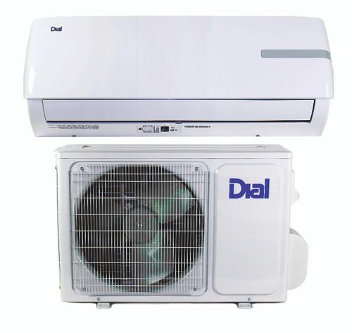 Ductless Mini-Split Air Conditioner and Heat Pump 12,000 BTU 17 SEER 1 Ton - 115 Volt - DIAL 80150