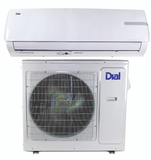 Ductless Mini-Split Air Conditioner and Heat Pump 18,000 BTU 17 SEER 1.5 Ton - 230 Volt - DIAL 80350