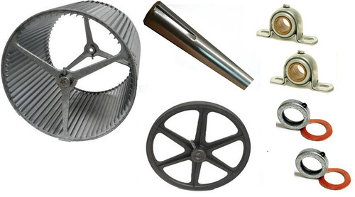 """1-3/16"""" BLOWER UPGRADE KIT with 14"""" Pulley for 8500 ES830 and ED830"""
