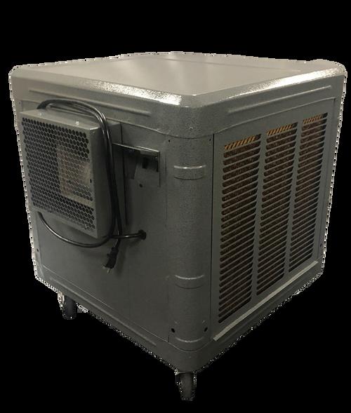 Master Blaster MB8 Mobile Evaporative Cooler for Garage Mechanic Warehouse