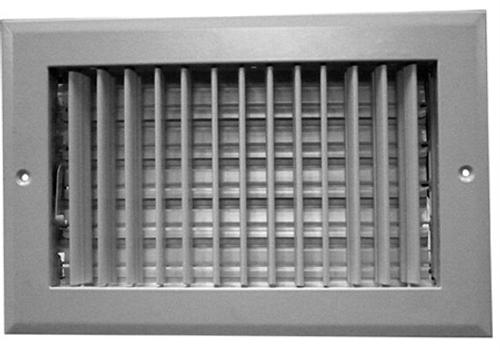 8X8 Air Register Adjustable Bar Face White PSAASWXX