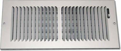 8X6 Air Register Stamped 2 Way White PS2WWXU