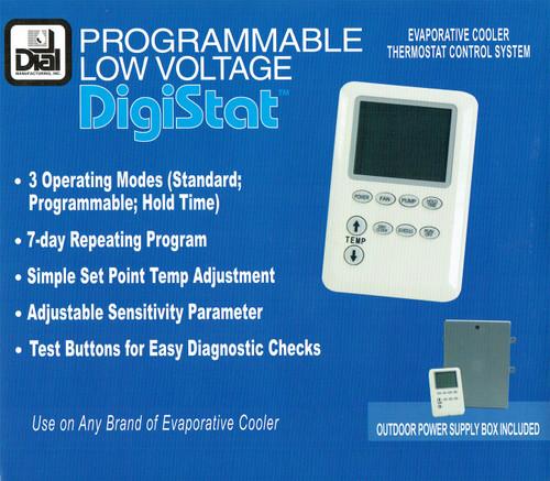 Digital Low Voltage Cooler Control Kit 115V/230V - Dial #7623