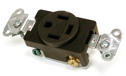 20 Amp 2 Speed Plug Receptacle 7570