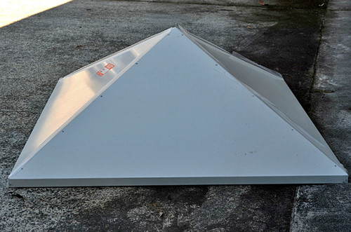 """18"""" Swamp Cooler Pyramid Diffuser with Hanging Straps WPYR18"""