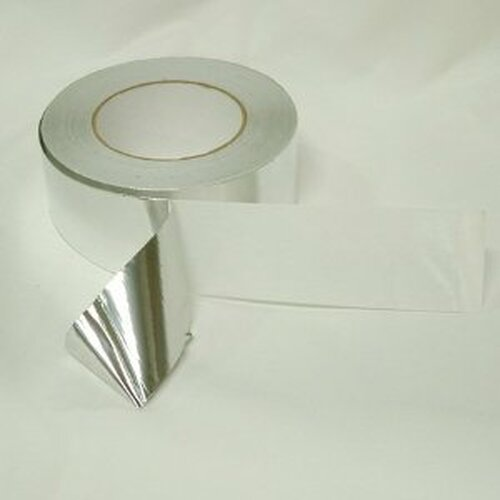 "2"" x 50' Aluminum Foil Tape - Peel & Seal SAF975K50"