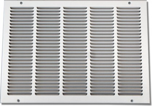 24 X 10 Air Return Grille Stamped Face - NO Filter Frame PSRGW2410