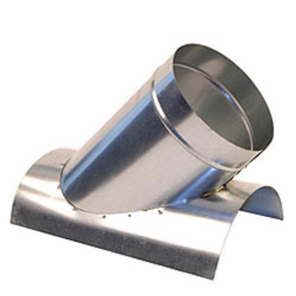 """4"""" 45 Degree Saddle Tap Branch - HVAC Ductwork Sheet Metal"""