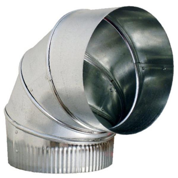 "14""  90 Degree Adjustable Elbow - HVAC Ductwork Sheet Metal"