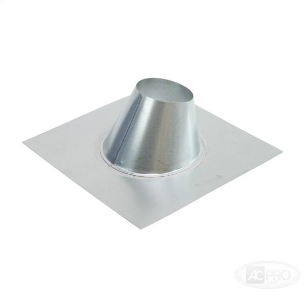 """4""""  Pipe Flashing  - HVAC Ductwork Sheet Metal"""