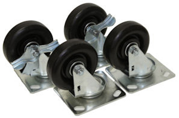 "Port-a-Cool 4"" Heavy Duty Caster Kit (set of 4) CASTER-KIT-04"