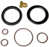 Fuel Filter Head Primer Seal Kit for Duramax with Brass Bleeder Screw