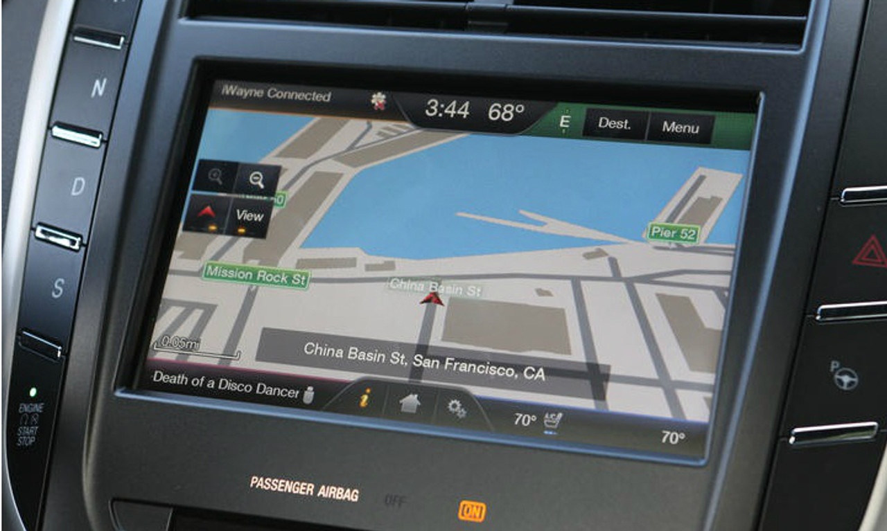 15 Lincoln MKC Navigation Upgrade For MyLincoln Touch