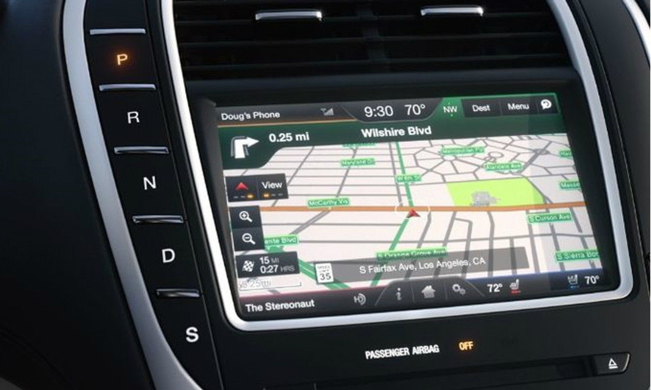 16 Lincoln MKX Navigation Upgrade For MyLincoln Touch