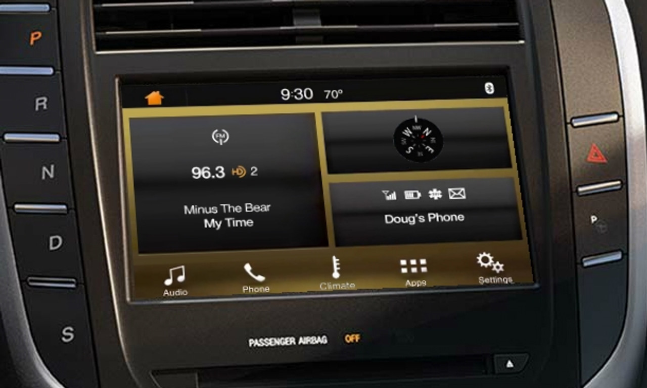 2015 Lincoln MKC SYNC 3 Upgrade for MyLincoln Touch