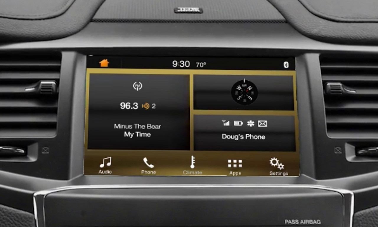 13-14' Lincoln MKS SYNC 3 Upgrade for MyLincoln Touch