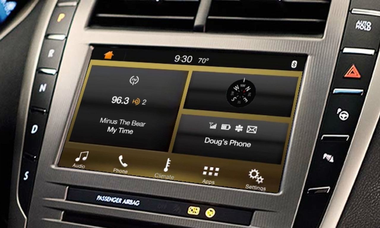 16 Lincoln MKZ SYNC 3 Upgrade For MyLincoln Touch