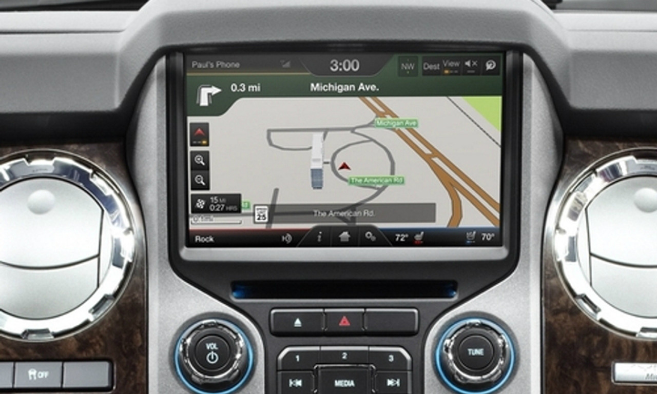 13-16' Ford F250 | F350 Navigation Upgrade for MyFord Touch