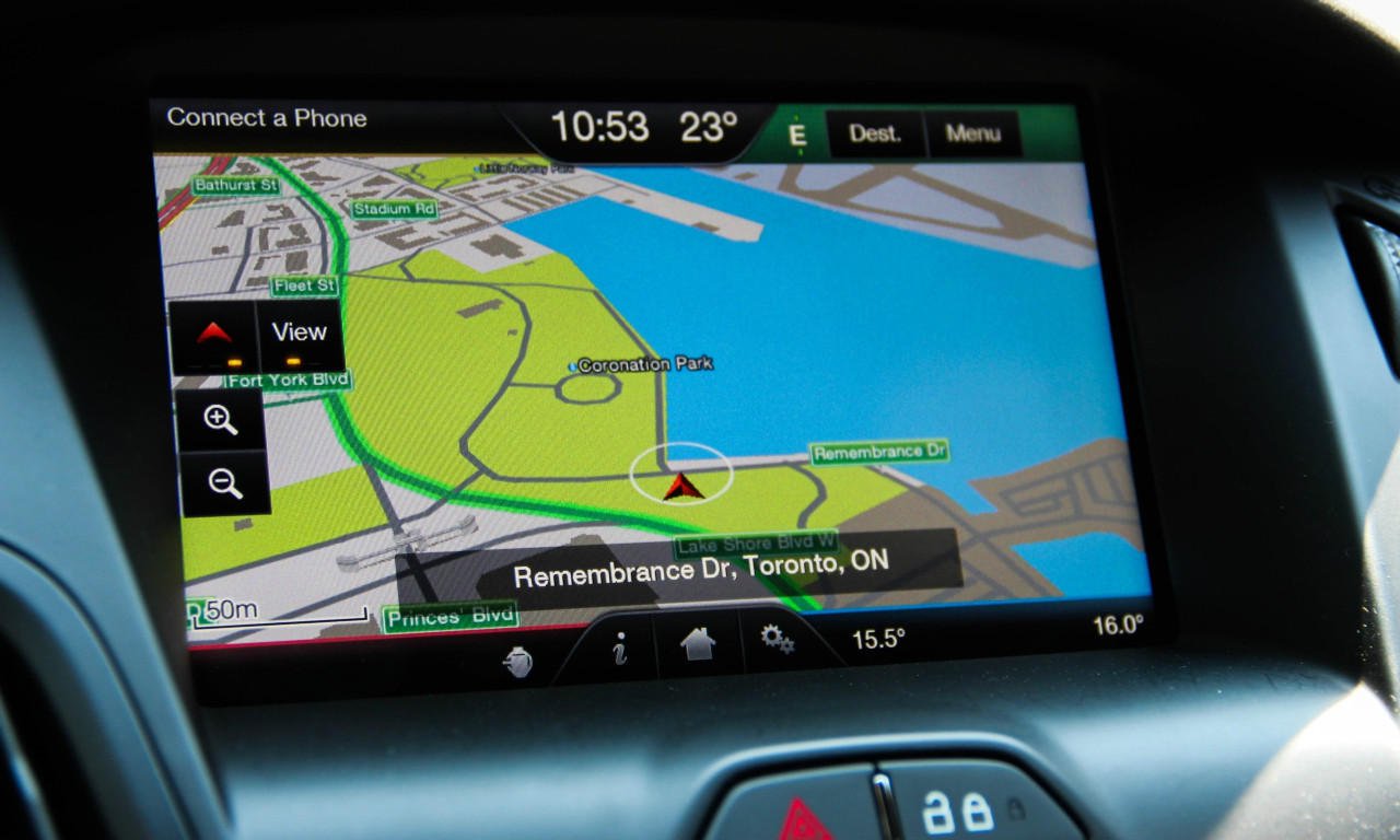 12-15' Ford Focus Navigation Upgrade for MyFord Touch