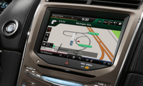 2011 2012 2013 2014 2015 Lincoln MKX Navigation Kit for MyFord Touch Systems - Installed View