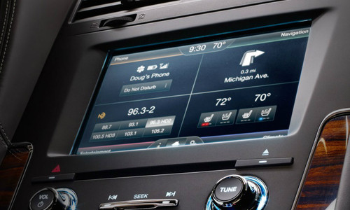 2015 Lincoln Navigator Navigation Kit for MyFord Touch Systems - Installed View