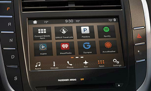 2016 Lincoln MKC Navigation Kit for SYNC 3 - Installed View