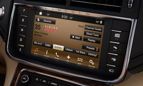 2017 2018 Lincoln Continental Navigation Kit for SYNC 3 - Installed View
