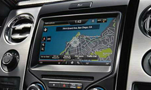 """13-14' Ford F150 4""""to 8"""" Touchscreen Conversion w/ SYNC 2"""