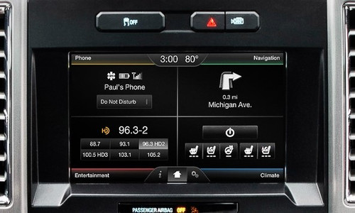 "2015 Ford F150 4"" --> 8"" Touchscreen Conversion w/ SYNC 2"